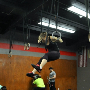 Here's me, fighting like hell for a muscle up. I'm just not there yet.