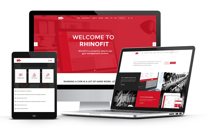 RhinoFit Sports Club Management System
