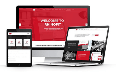 RhinoFit Software on a Tablet