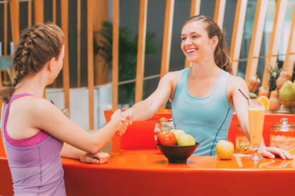 gym greeting