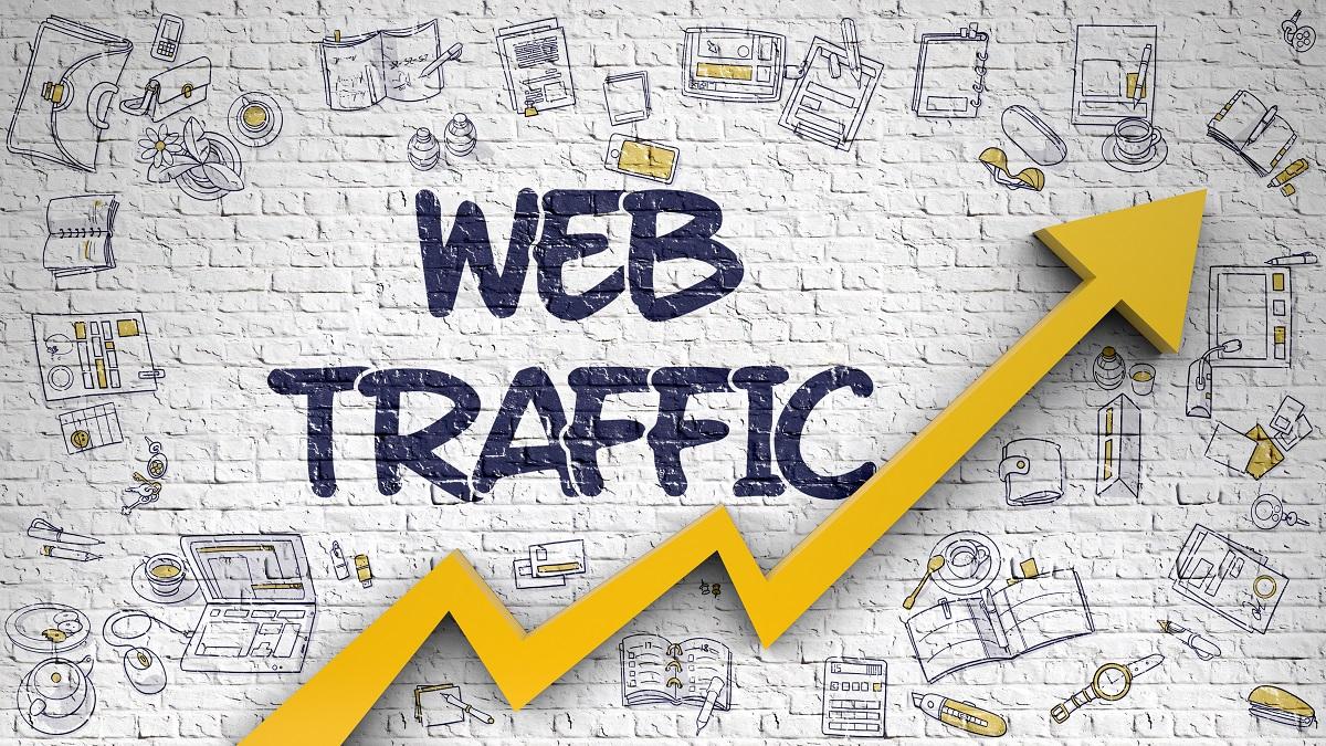 Gym Website Traffic