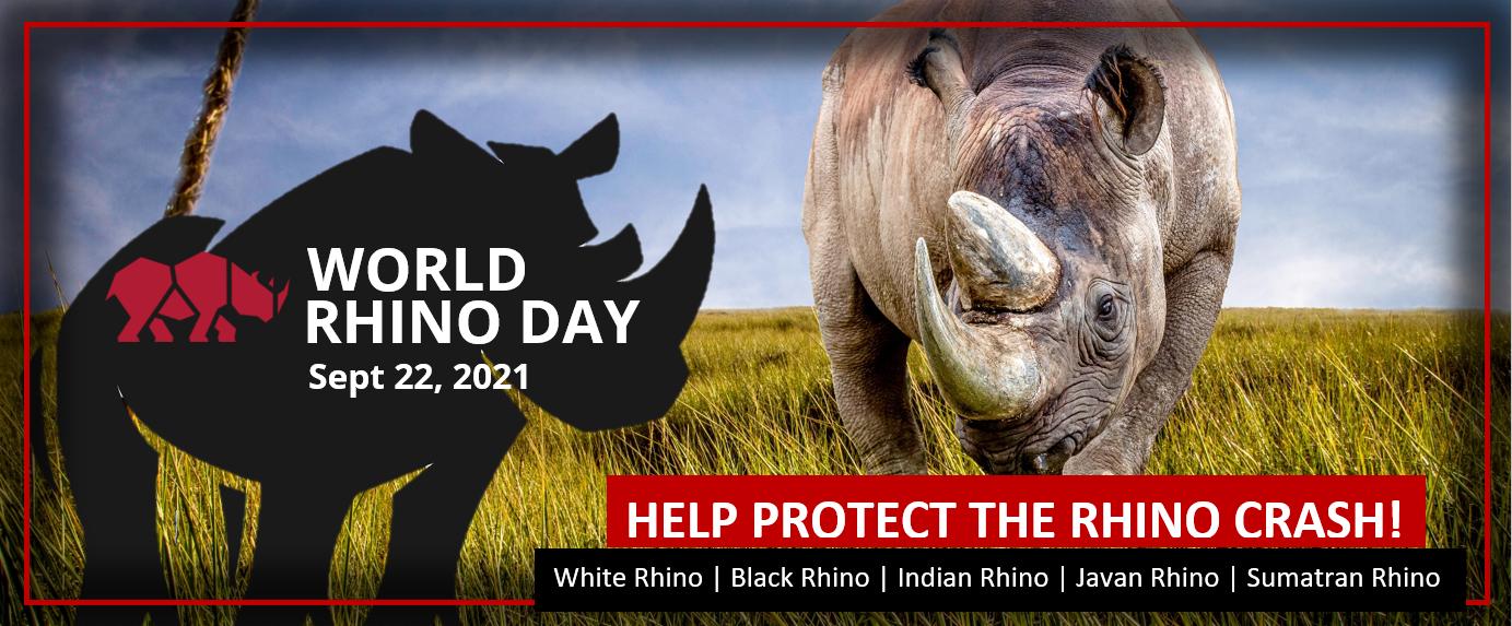 World Rhino Day Banner